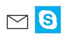 メールスカイプ画像