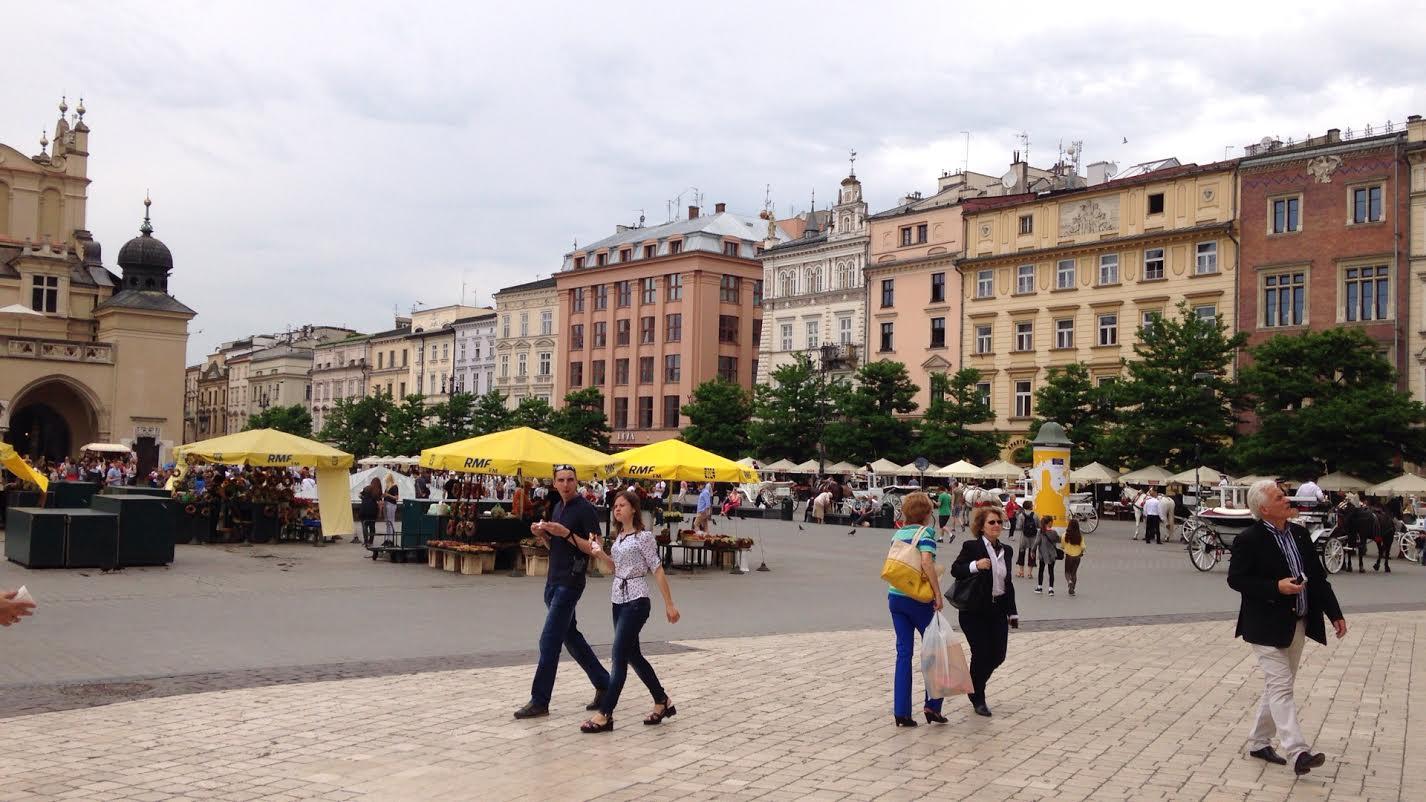 ポーランド街並み